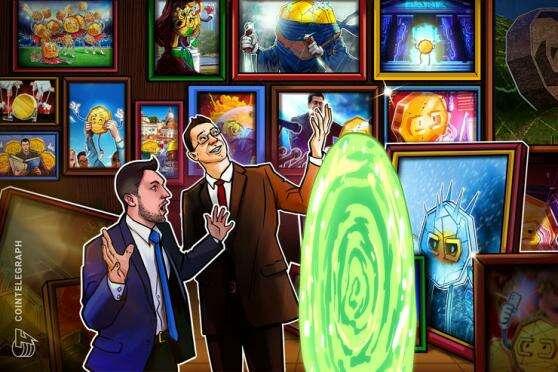 Rick and Morty krypto sztuki sprzedaje za 150.000 dolarów na gemini własnością platformy Przez Cointelegraph