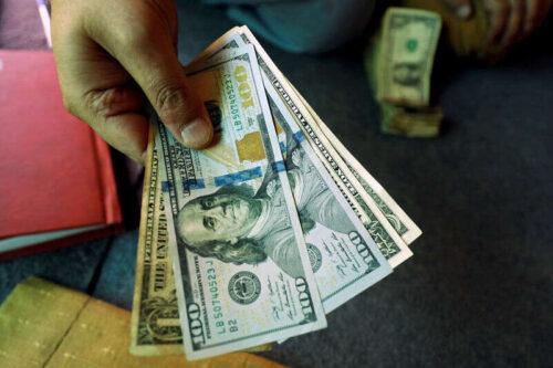 Dolar rajdów jako silne zadania Raport Stoks Zakłady na karłowatym zwężającym się przez Investing.com