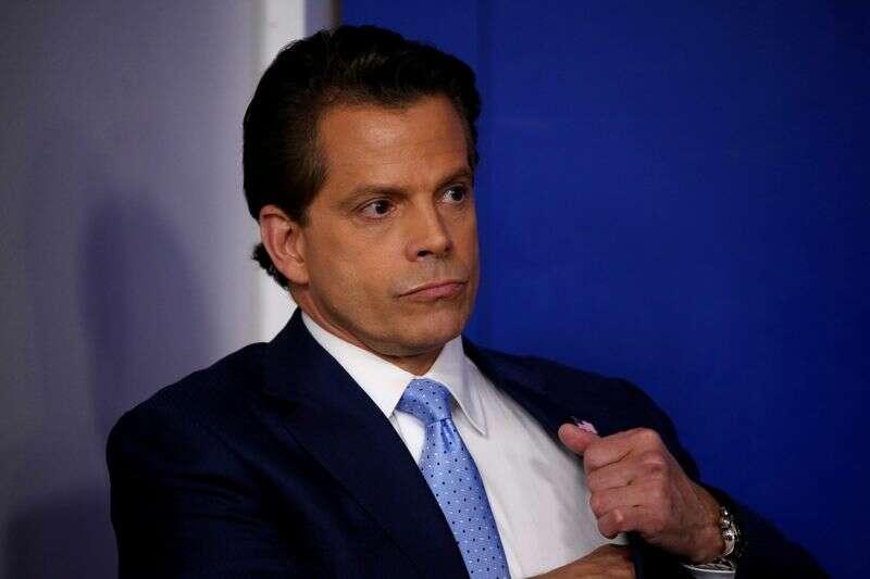Scaramucci\'s Salt Hedge Fund Confab Wratess Osobior w Nowym Jorku przez Reuters